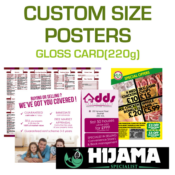 Custom Sized Posters