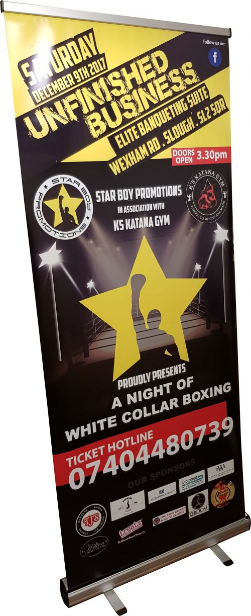 StarBoy Promotions Rollup Banner