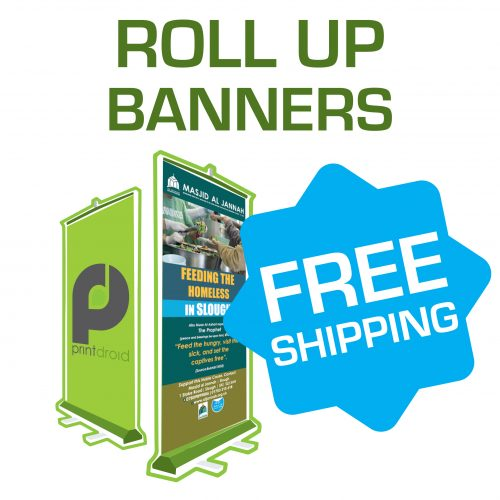 Rollup Banners - Pull Up Banners